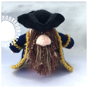 Pirate Gonk Free Crochet Pattern Doll Clothes Hooked