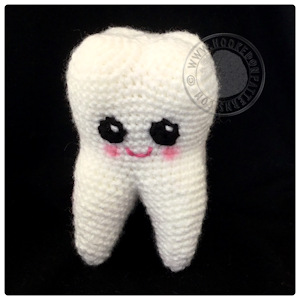 Amigurumi Tooth Fairy : Free Tooth Fairy Crochet Pattern - Hooked On Patterns